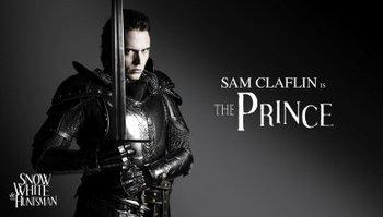 Sam as Prince William