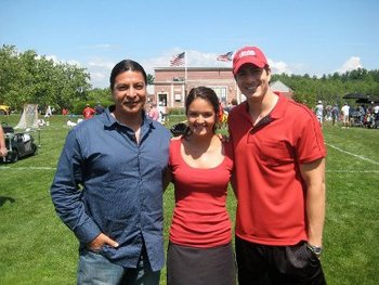 Chelsea with Brandon and Gil Birmingham