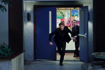 Jake chases his brother after he steals the crystal
