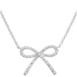 Paris Hilton Inspired Bow Necklace