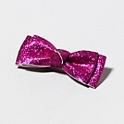 Claire's All Tied Up bow comes in several colors and patterns