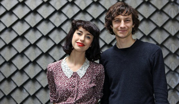 Gotye and Kimbra performed on SNL in April 2012