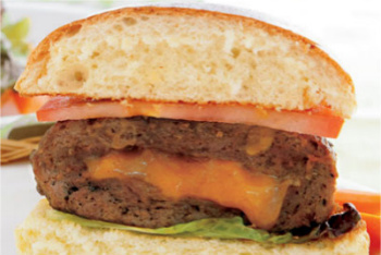Inside-Out Cheeseburger