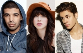 Chart-topping Canadians Drake, Carly Rae Jepsen and Justin Bieber all competed for awards this year
