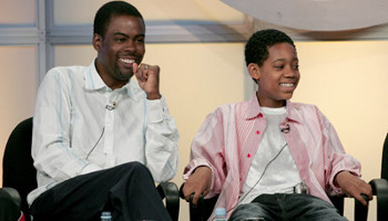 In Everybody Hates Chris Tyler played a kid based on comedian Chris Rock