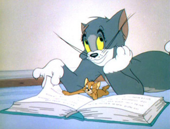 It's all a cat and mouse game to Tom and Jerry
