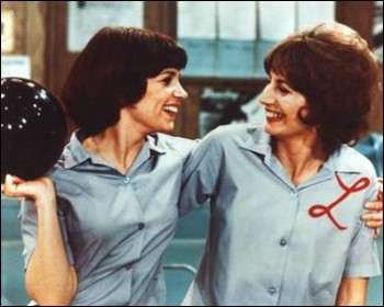 Laverne and Shirley work together and live together in Milwaukee