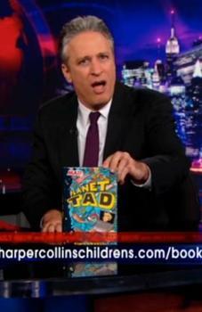 Jon Stewart Promoting Planet Tad