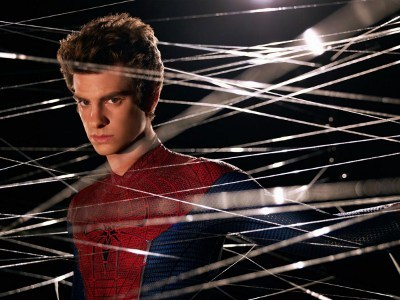 Andrew caught in the web