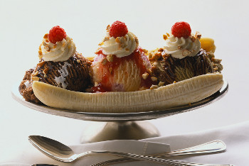 4 different towns in the U.S. claim to be the home of sundaes