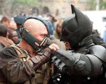 Batman fights Bane