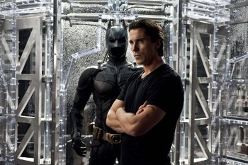Bruce Wayne and the Batsuit
