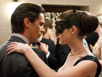 Bruce Wayne and Selina Kyle