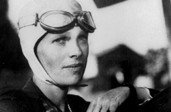 Amelia's plane disappeared during her attempt to fly around the world