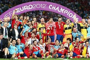 Spain Wins Euro 2012