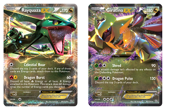 Pokémon TCG: Upcoming EX cards