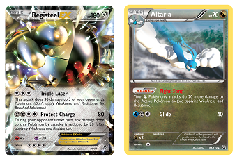 Registeel EX and Altaria