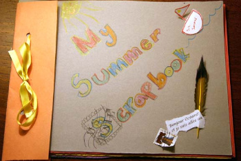 Scrapbooks are Perfect for Storing Summers