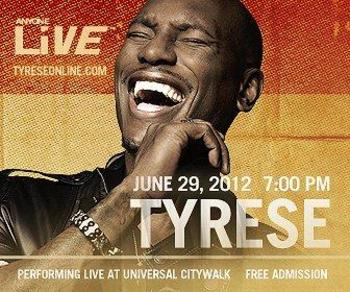 Tyrese performance poster