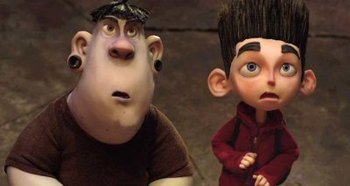 Alvin with Norman