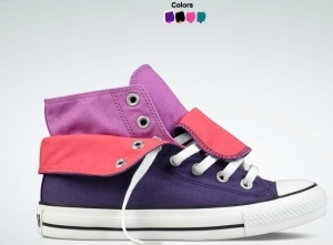 Chuck Taylor Two-Fold canvas shoes