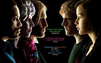 Major Hunger Games cast
