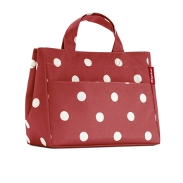 Ruby Dots Lunch Tote can double as a purse or a lunchbox!