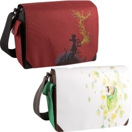 Liberty (boys) and Juliet Thermos Brand Lunch Totes, from Threadless