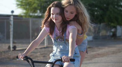 Kay and Juno as Ali and Lily