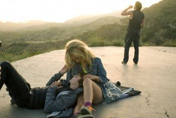Lily (Juno) with her L.A. boyfriend