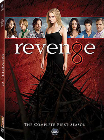 Revenge: The Complete First Season is availabe in stores now