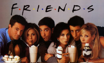 FRIENDS was all about letting your friends help you through life