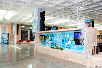 Disney Toon Studios Lobby.
