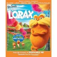 Lorax Blu-Ray/DVD cover art