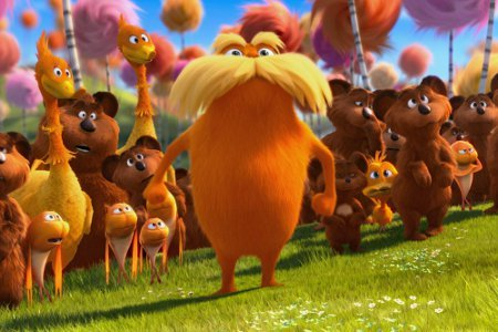 Lorax and forest animals
