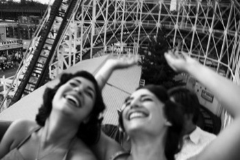 Roller coasters quickly became an amusement park staple