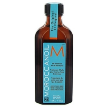 Moroccan oil helps heal and protect hair from heat styling tools and prevent flyaways and frizzies.