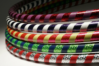 Decorate Your Hula-Hoops with Bright Colors