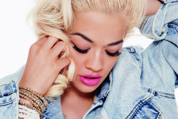 Rita's first two singles shot to the top of the UK charts