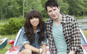 """Carly Rae Jepsen and Owl City teamed up for the feel-good song """"Good Time"""""""