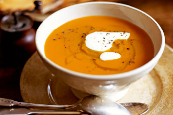 Roasted Fall Vegetable Soup