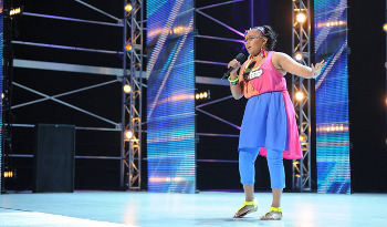 Contestants audition for the judges