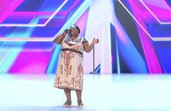 Panda's voice shocked the judges