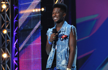 17-year-old Willie Jones wowed them with a country classic