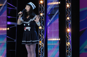 "Changyi Li sang ""My Heart Will Go On,"" although she will not on the show."