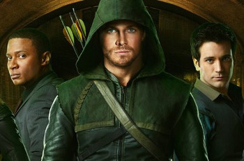 The Arrow stars Stephen Amell as the title character