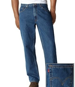 Tall guys can benefit from a relaxed fit, like these Levi's 550's