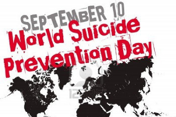World Suicide Prevention Day is September 10th