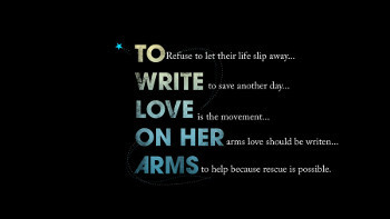 To Write Love on Her Arms connects people in need of help with resources
