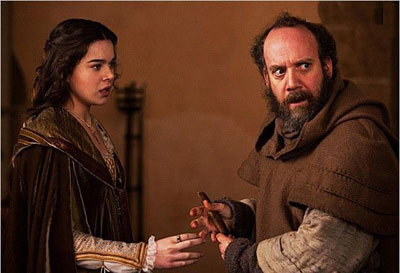 The Friar hands Juliet the poison potion